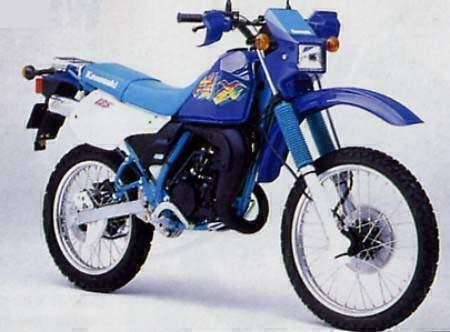 мотоцикл Kawasaki Kmx 125 1997 описание фото запчасти цена