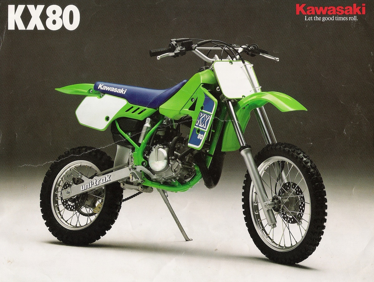 kawasaki kx 80 1989. Black Bedroom Furniture Sets. Home Design Ideas