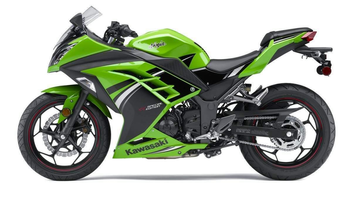 схема строения мотоцикла кавасаки