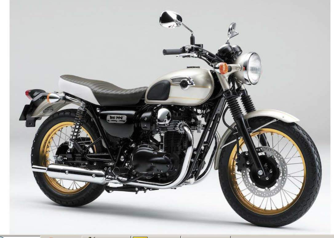 Мотоцикл Kawasaki W 800 Limited Edition 2015