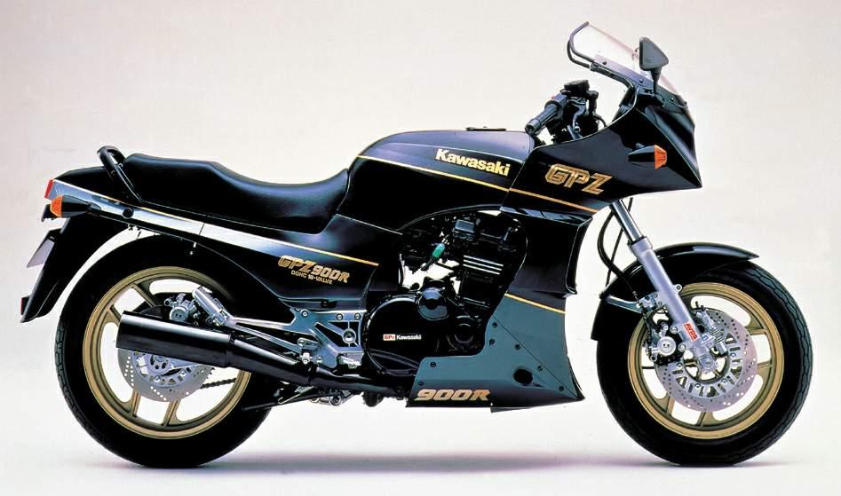 мотоцикл Kawasaki Zx 900 Ninja 1989 описание фото запчасти цена