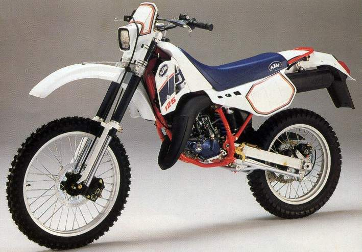 Мотоцикл KTM 125 GS Enduro 1997