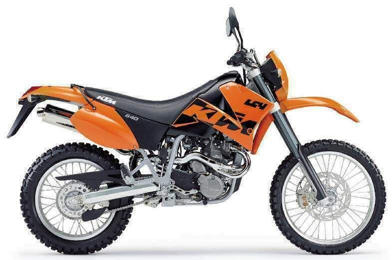 Мотоцикл KTM 640 LC4 Supercomp 1999