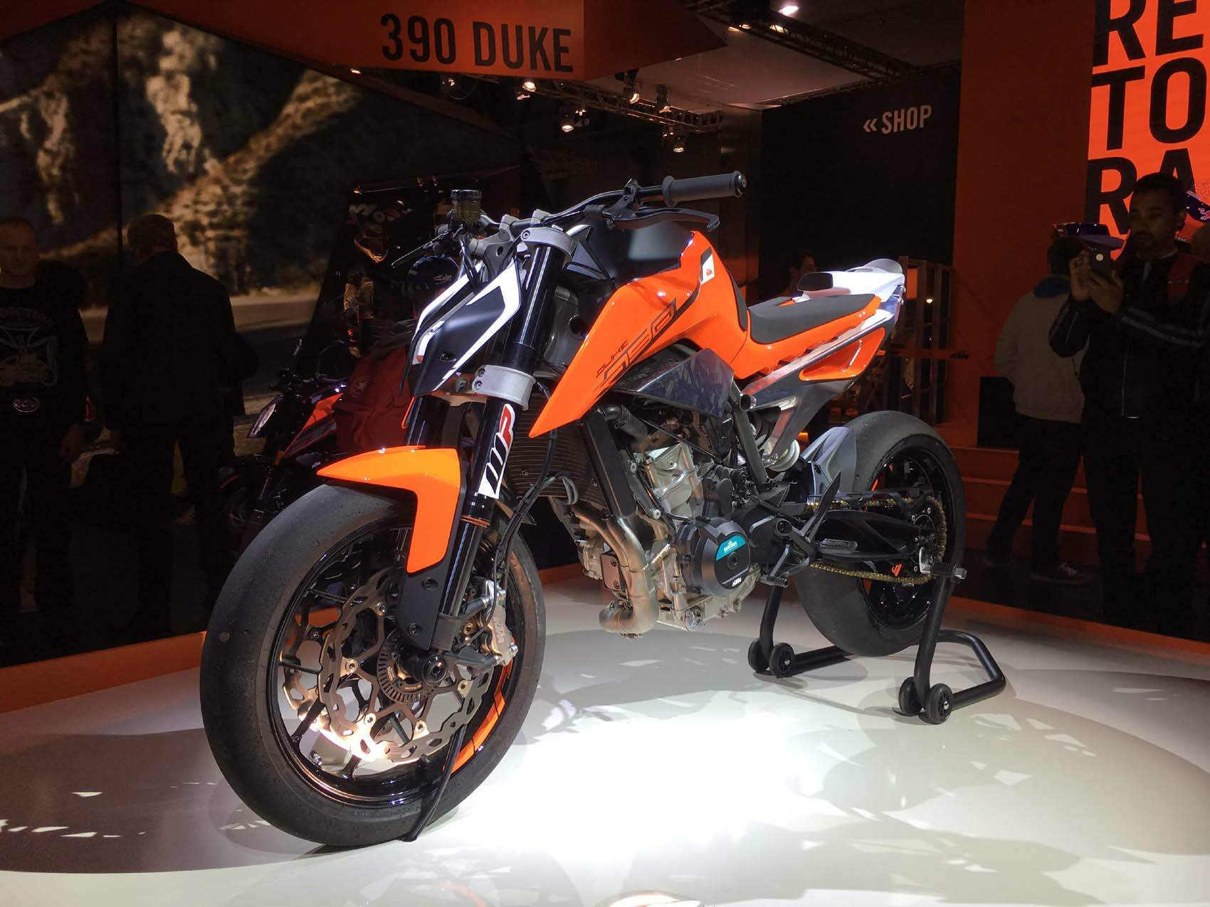 Мотоцикл KTM 790 Duke Prototype 2017