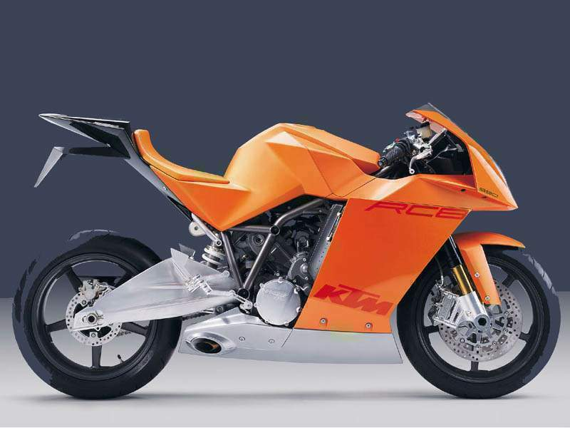 Мотоцикл KTM RC8 Prototype 2000