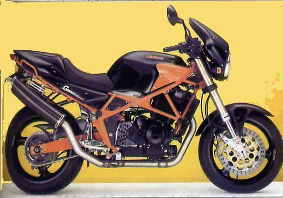 Мотоцикл Laverda 650 Ghost Legend  1995