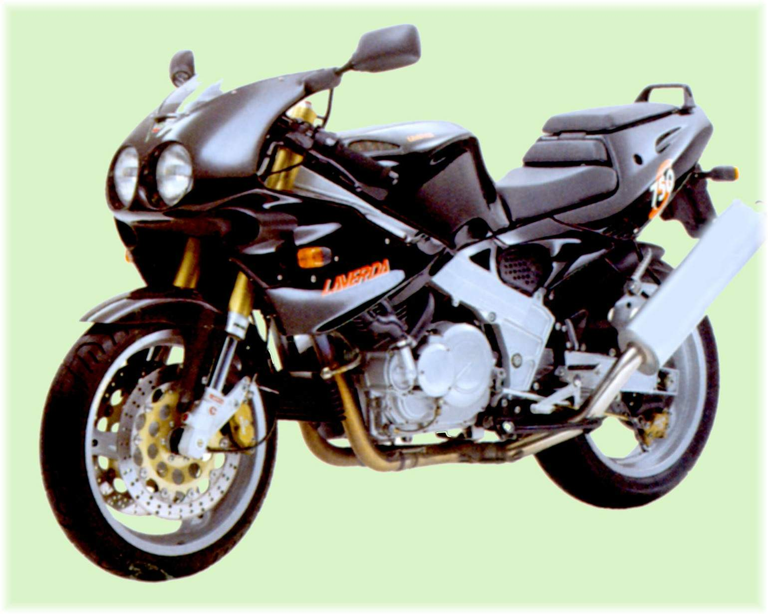 Мотоцикл Laverda 750 Sport ( Half faired) 1998