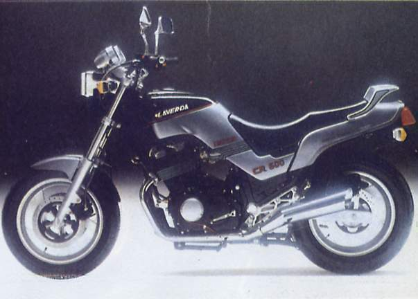 Мотоцикл Laverda CR 600 Cruiser 1988