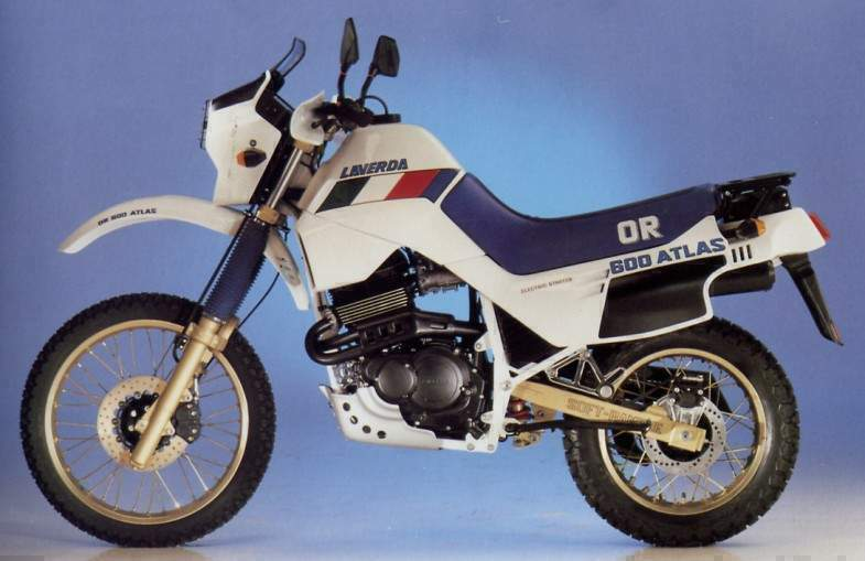 Мотоцикл Laverda OR 600 Atlas 1986