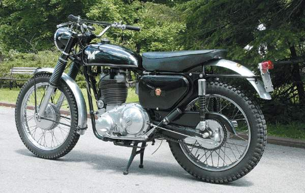 Мотоцикл Matchless G85 CS 1964
