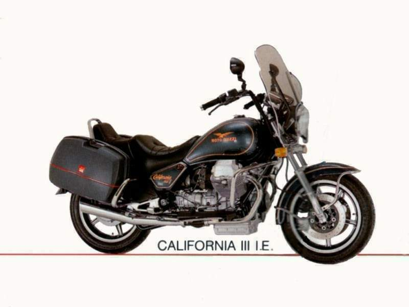 Мотоцикл Moto Guzzi California III injection 1990