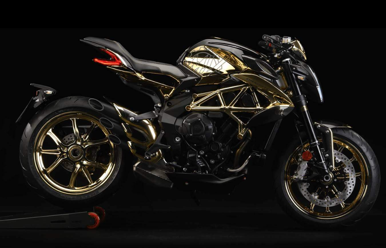 Мотоцикл MV Agusta Dragster 800RC Shining Gold 2019