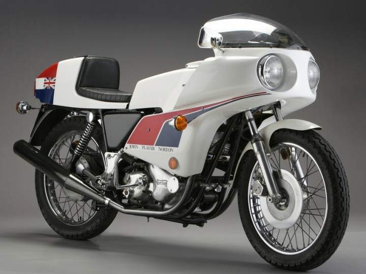 Мотоцикл Norton Commando 850 JPS 1974