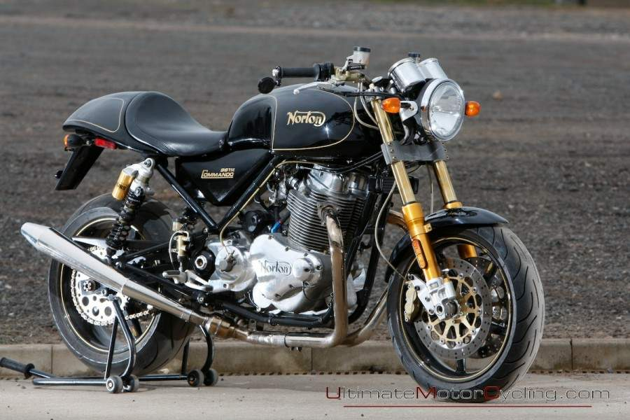 Мотоцикл Norton Commando 961 S .E. 2010