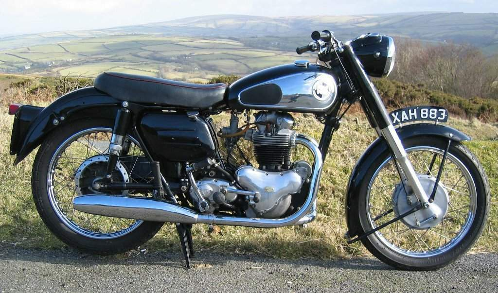 Мотоцикл Norton Dominator 77 1957