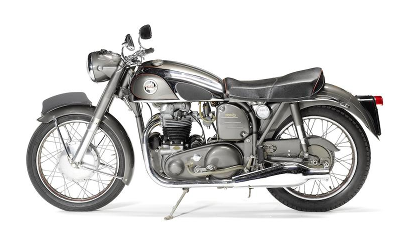 Мотоцикл Norton Dominator 99 1956