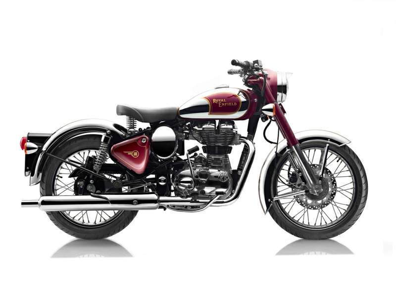 Мотоцикл Royal Enfield Bullet C5 Classic EFI Chrome 2015