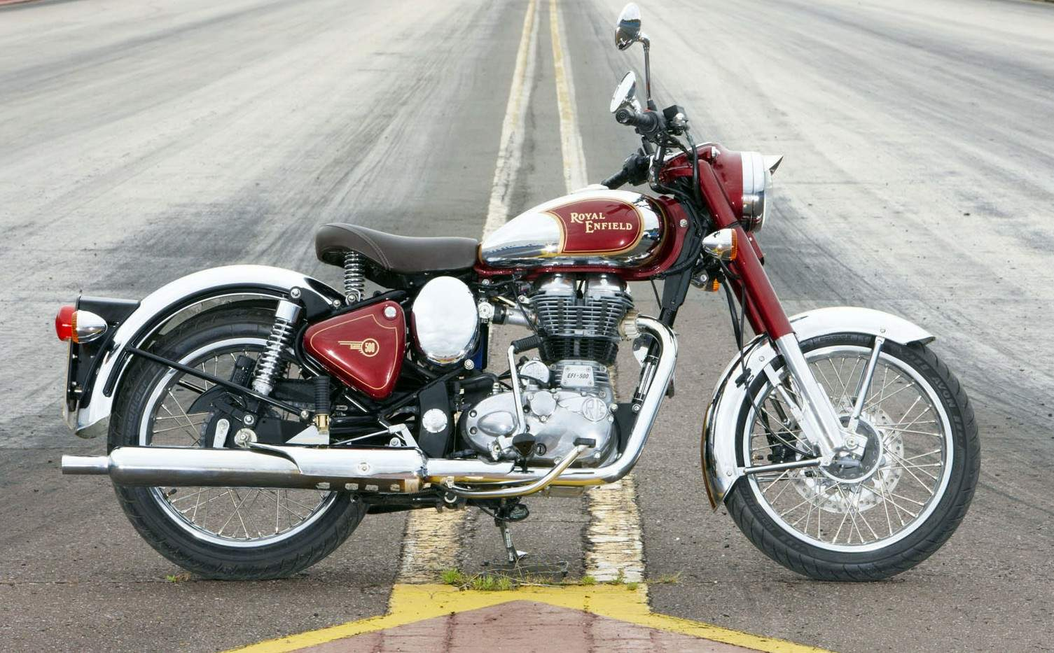 Мотоцикл Royal Enfield Bullet C5 Classic EFI Chrome 2011