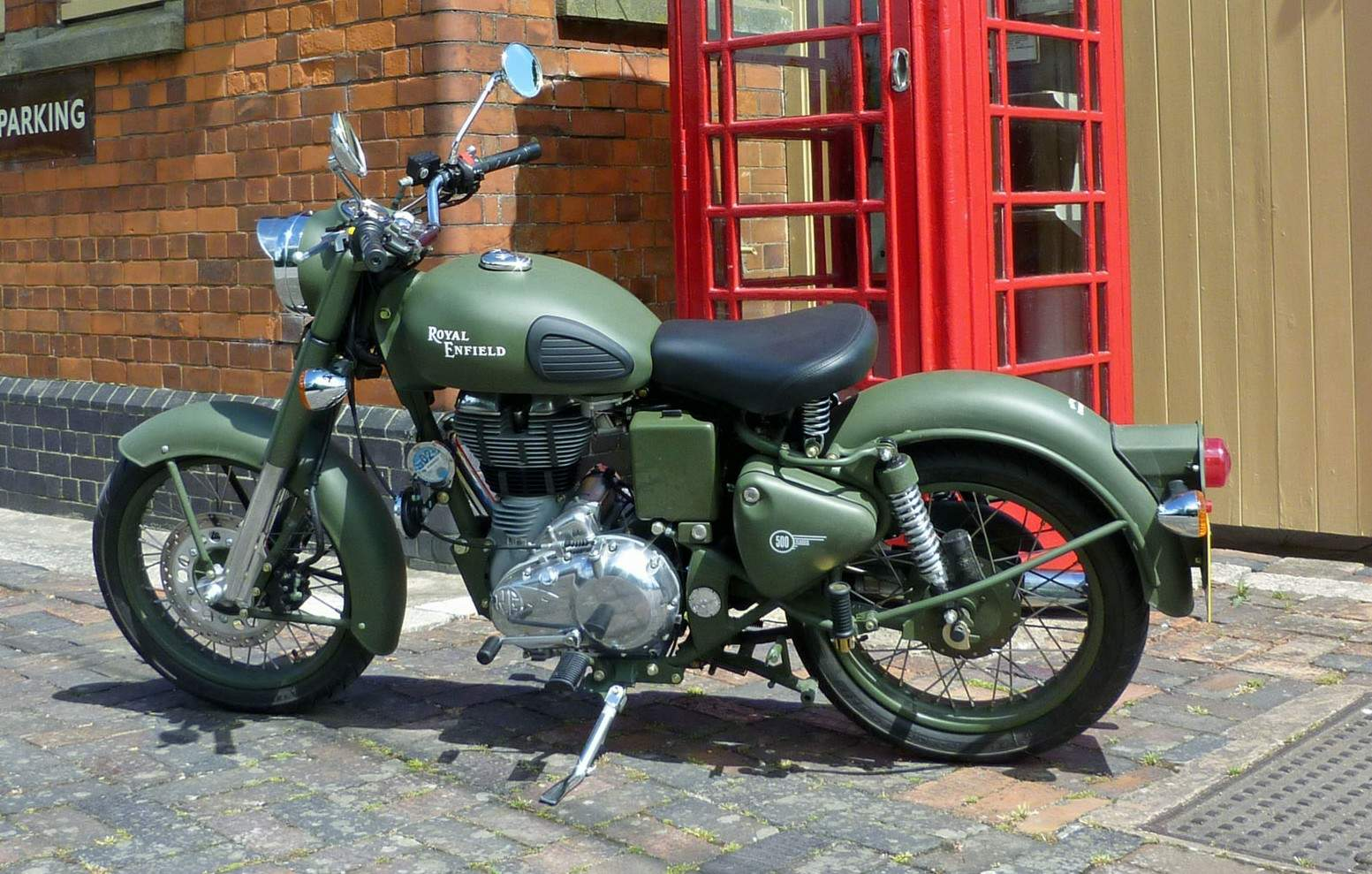 Мотоцикл Royal Enfield Bullet C5 Military EFI 2010