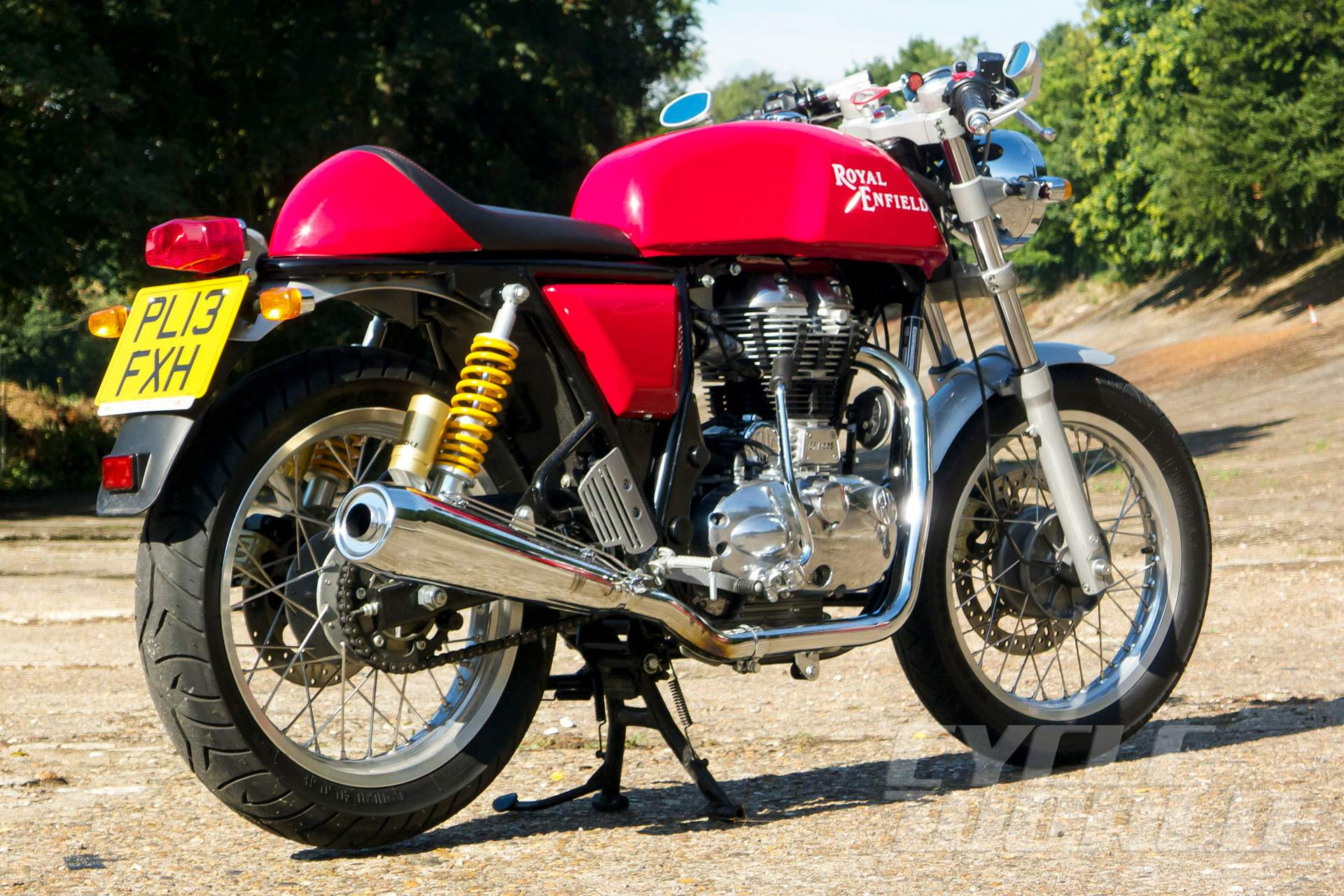 Мотоцикл Royal Enfield Continental GT 2014