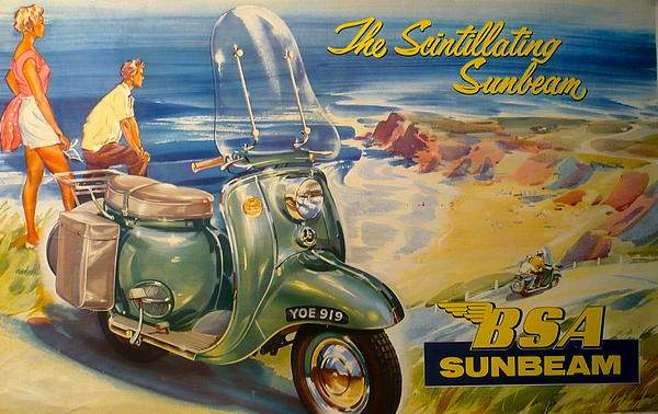 Мотоцикл Sunbeam B1 1957