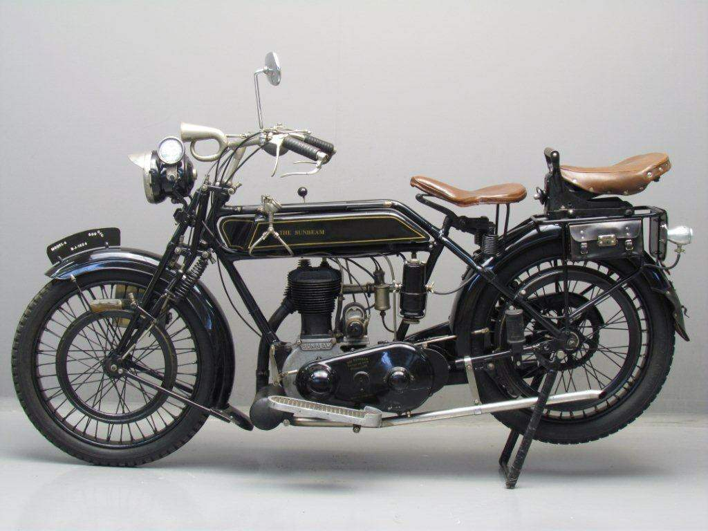 Мотоцикл Sunbeam Model 4 De Luxe 1924