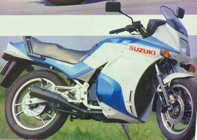Suzuki Gsx 550 Инструкция - фото 9