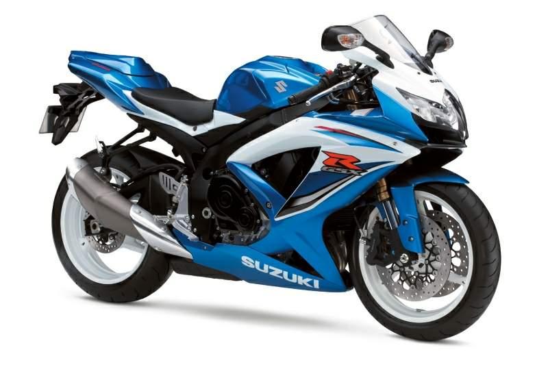 Мотоцикл suzuki gsx r 600 2009