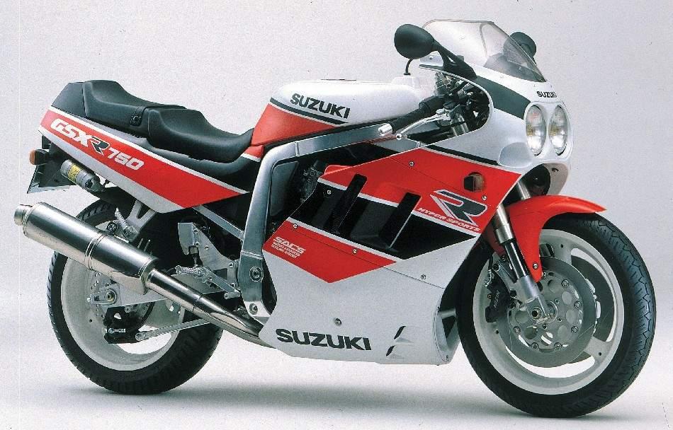 Suzuki GSX R 750 1989