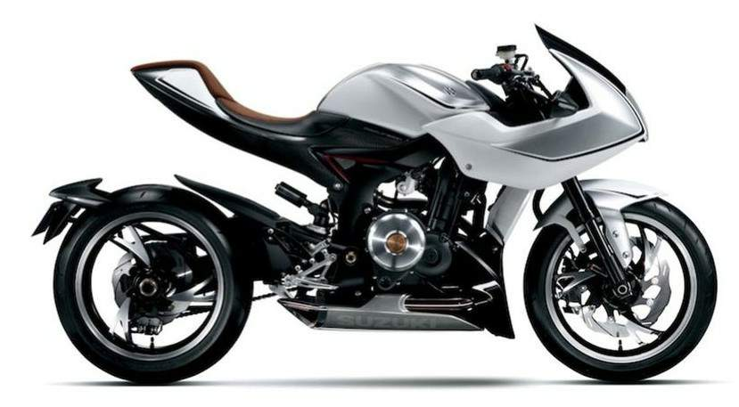 Мотоцикл Suzuki Recursion Concept 2014