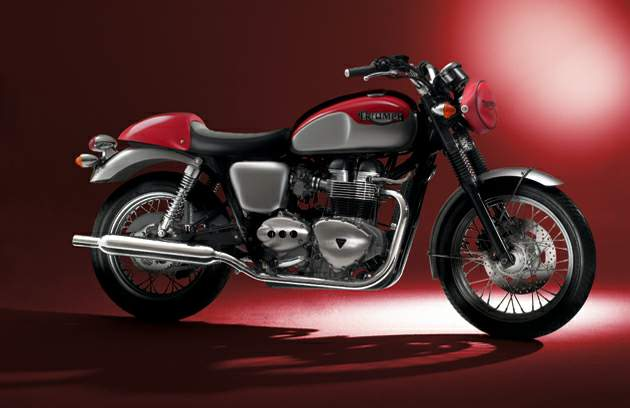 "Мотоцикл Triumph Sixty8 Range ""The Aftermath"" 2007"