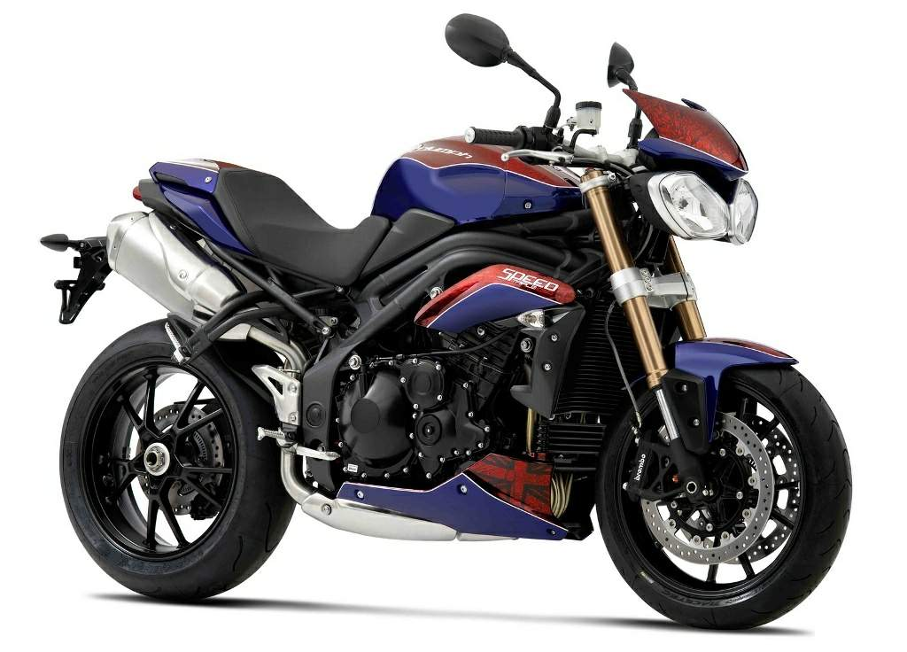 Мотоцикл Triumph Speed Triple H alf Millionth Special Edition 2012