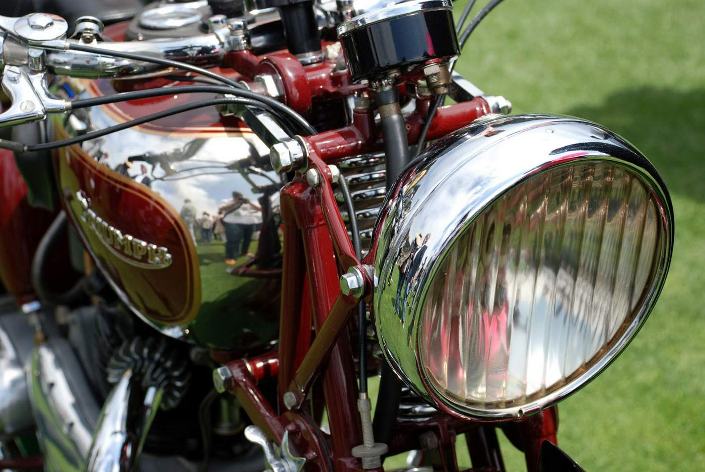 Мотоцикл Triumph Speed Twin 5T 1937