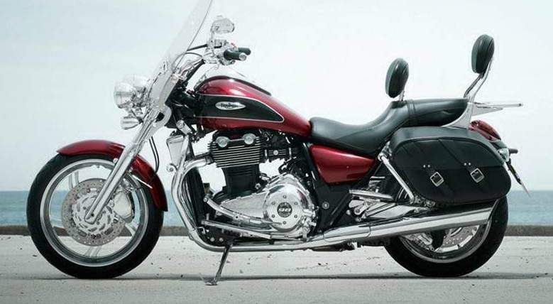 Мотоцикл Triumph Thunder bird 2013