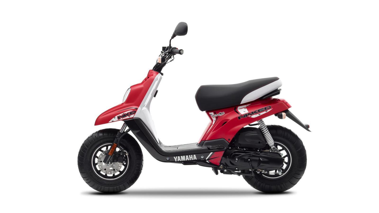 Мотоцикл Yamaha BWs Naked 50 2013 характеристики