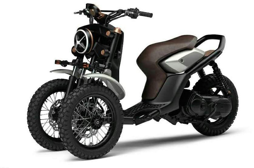 Мотоцикл Yamaha GEN 03-f and GEN-x Concept 2015