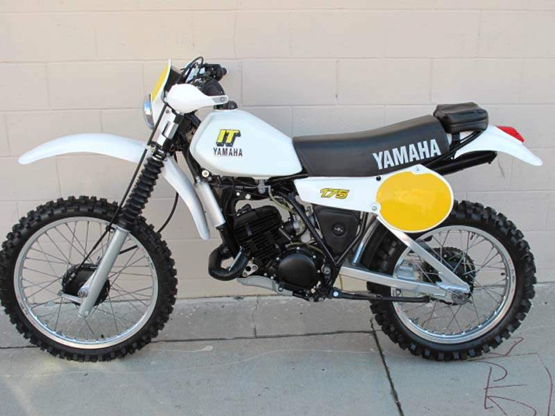 Мотоцикл Yamaha IT 175 1980