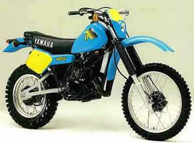 Мотоцикл Yamaha IT 465 1982
