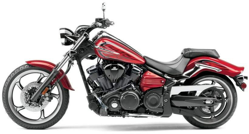 Мотоцикл Yamaha Star Roadliner S 2008