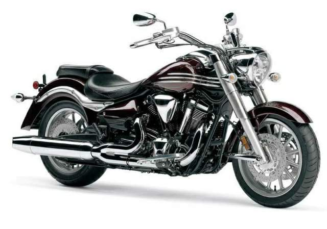 Мотоцикл Yamaha Star Roadliner 2008