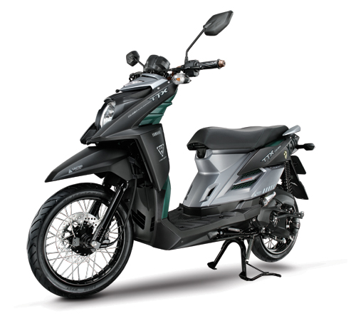 Мотоцикл Yamaha TTX 115 X-FORCE 2012