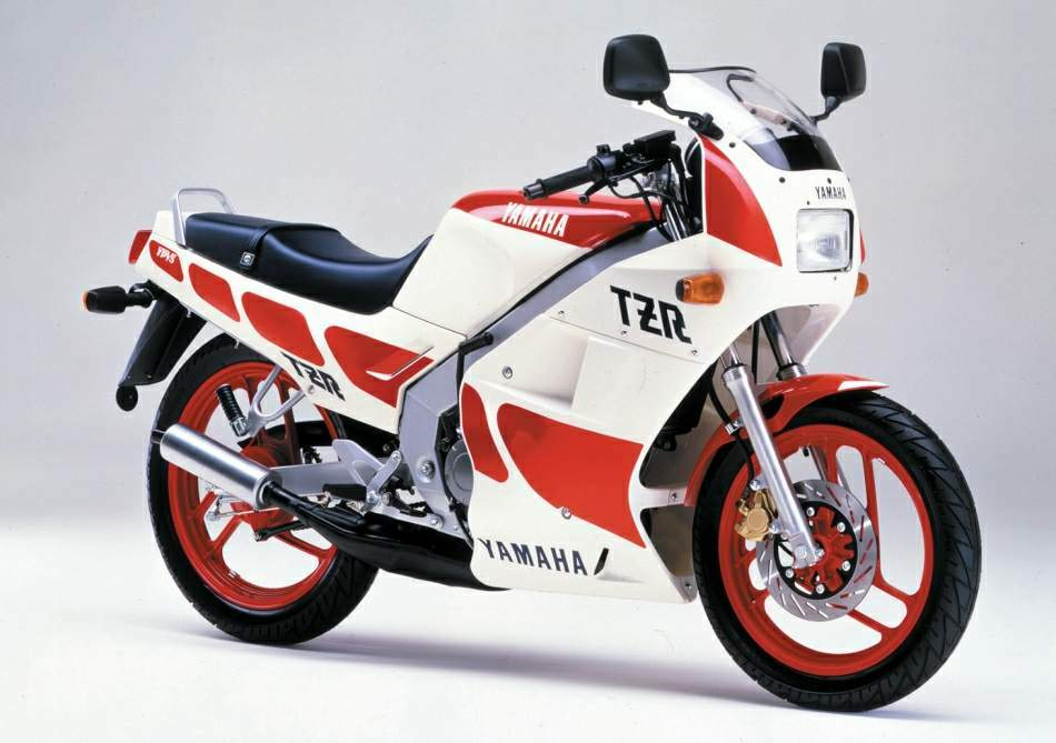 Мотоцикл Yamaha TZR 125 Naked 1987 Фото, Характеристики