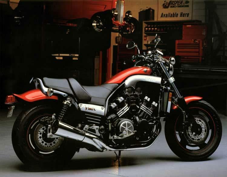 Мотоцикл Yamaha VMX V-Max 1200 20th Anniversary L.E. 2005 Описание ...
