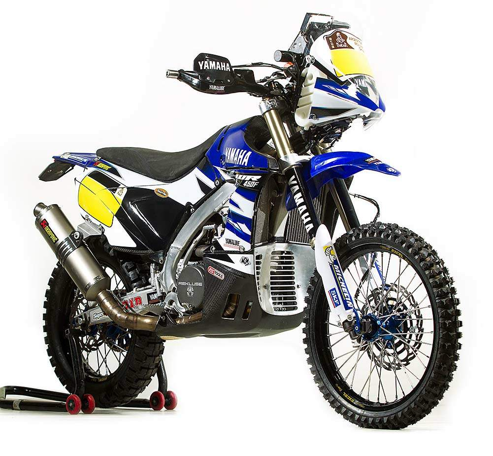 Мотоцикл Yamaha WR 450F Rally 2015