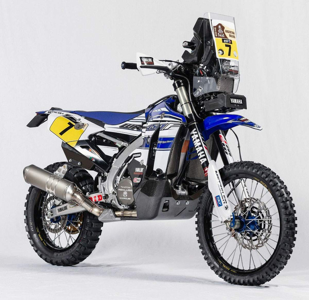 Мотоцикл Yamaha WR 450F Rally 2016