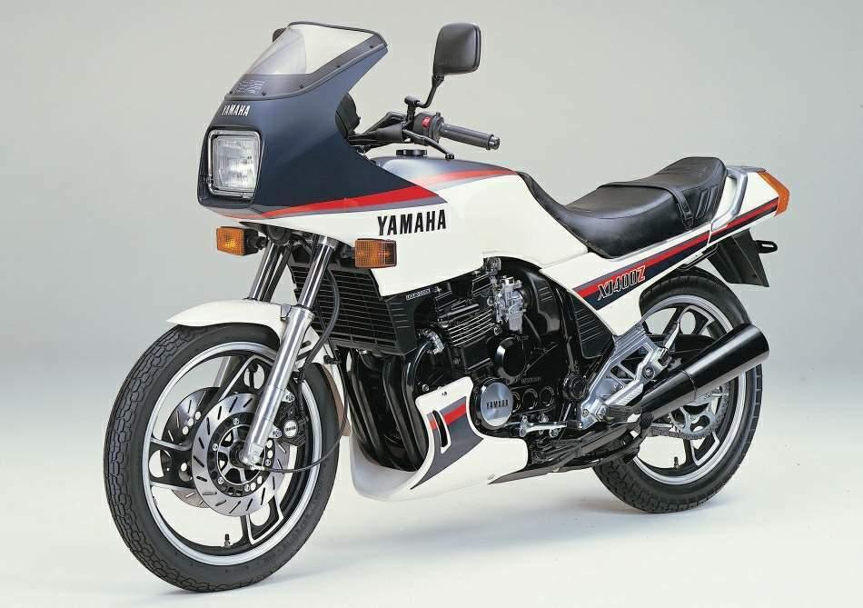 Мотоцикл Yamaha XJ 400Z-E 1983