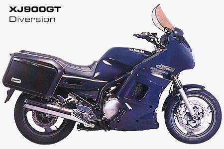 Мотоцикл Yamaha XJ 900 GT Diversion 1993