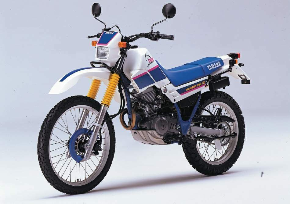 Мотоцикл Yamaha XT 225 Serow 1987