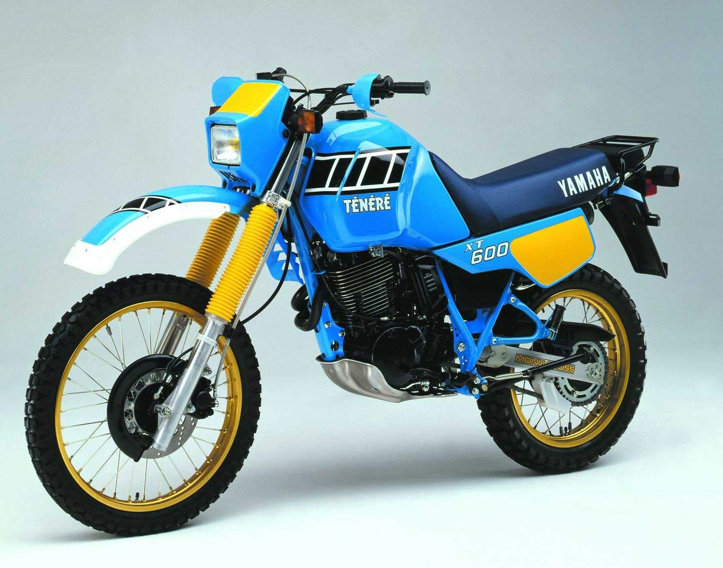 Мотоцикл yamaha xt 600 z tenere 1983 фото