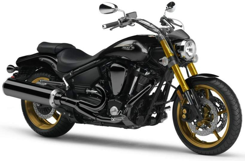 Мотоцикл Yamaha XV 1700 Road Star Warrior Midnight 2006